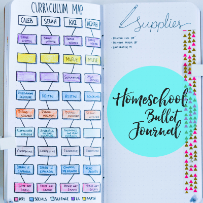Homeschool Bullet Journal