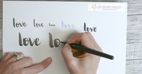 Brush Lettering Video and Pen Review