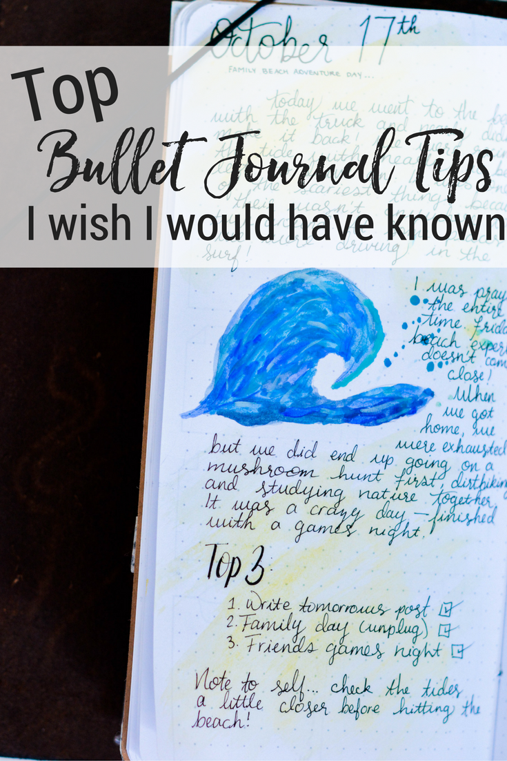 Top Bullet Journal Tips I Wish Would Have Known In The Beginning