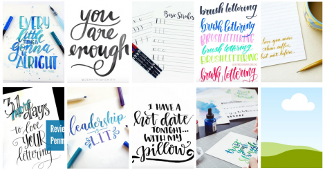 10 Hand Lettering Pros to Inspire and Teach