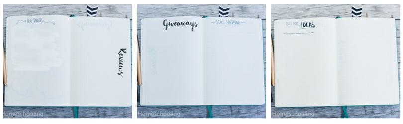 business bullet journal