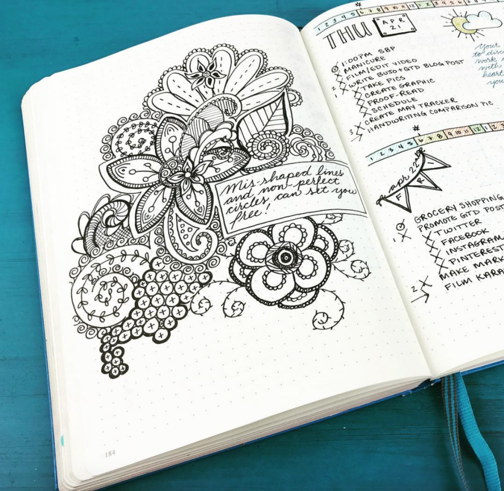 Bullet Journal Ideas from Kara