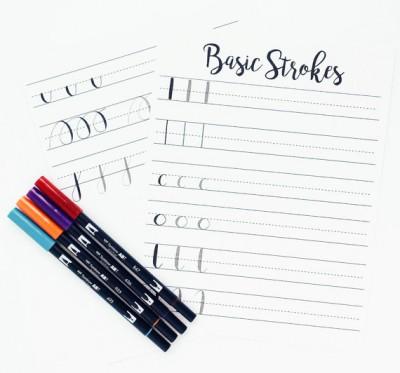 Hand lettering for beginners by Elizabeth Fischer