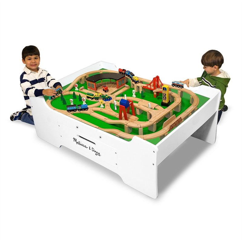 Melissa and Doug Train Table