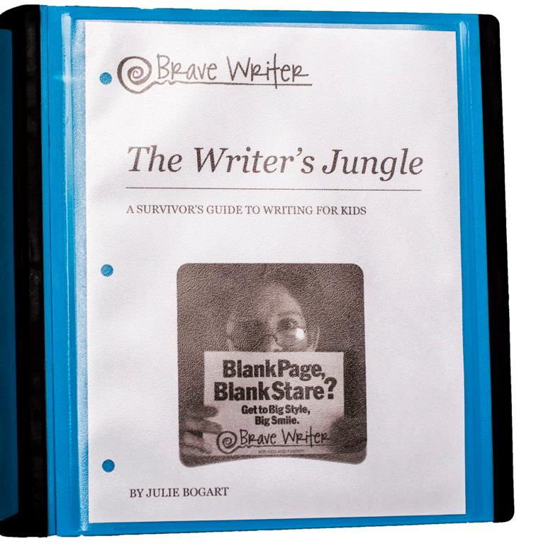 Writer's Jungle: an unschooling writing framework