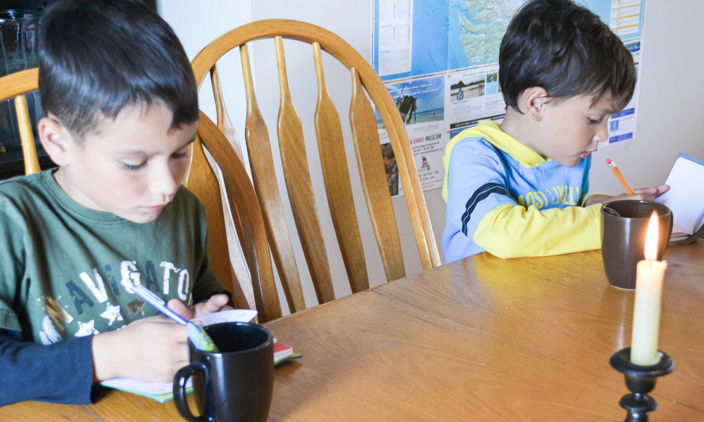 An Unschooling Approach to Teaching Writing