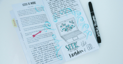 What's the Big Deal with Bible Journaling?