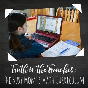 The Busy Mom's Math