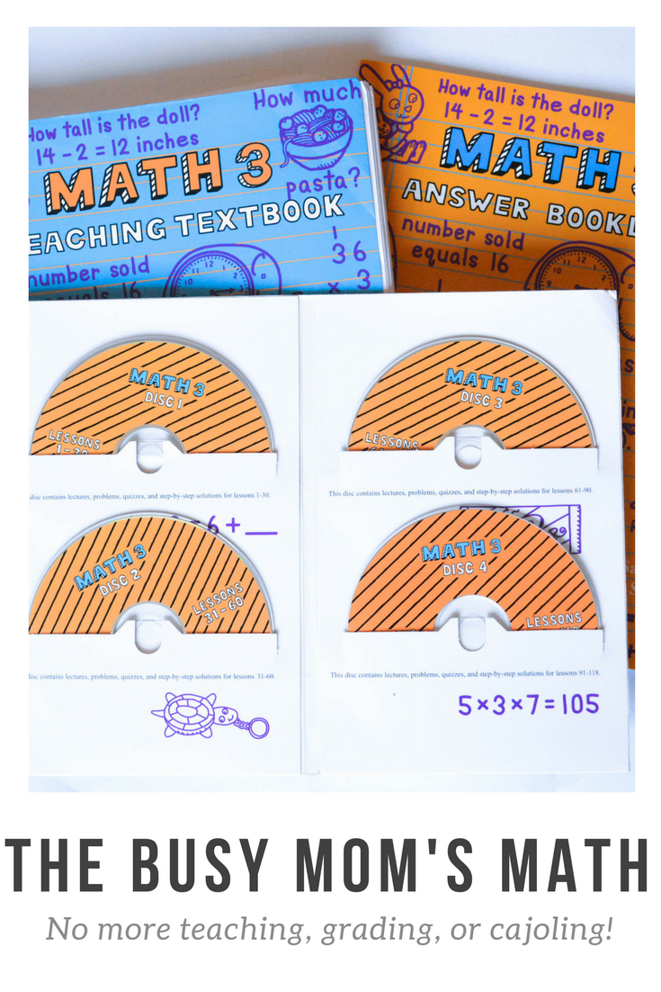 The Busy Mom's Math: a homeschool math curriculum that will take over for you! Teaching textbooks | homeschool math | homeschool curriculum | online math | easy math | math for kinesthetic learners | math for visual learners | fun math program | homeschool math program | teaching textbooks review | homeschooling | homeschool ideas | homeschool math | homeschooling math | homeschool grade 3 | grade 4 homeschool | grade 5 homeschool | elementary math