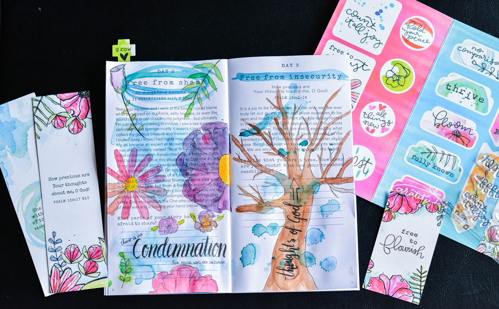 Free to Flourish: Illustrated Faith Devotional Kit