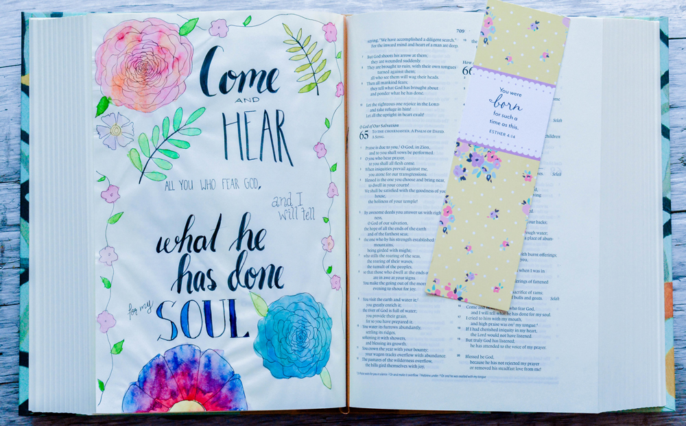 simple bible journaling ideas that anyone can do