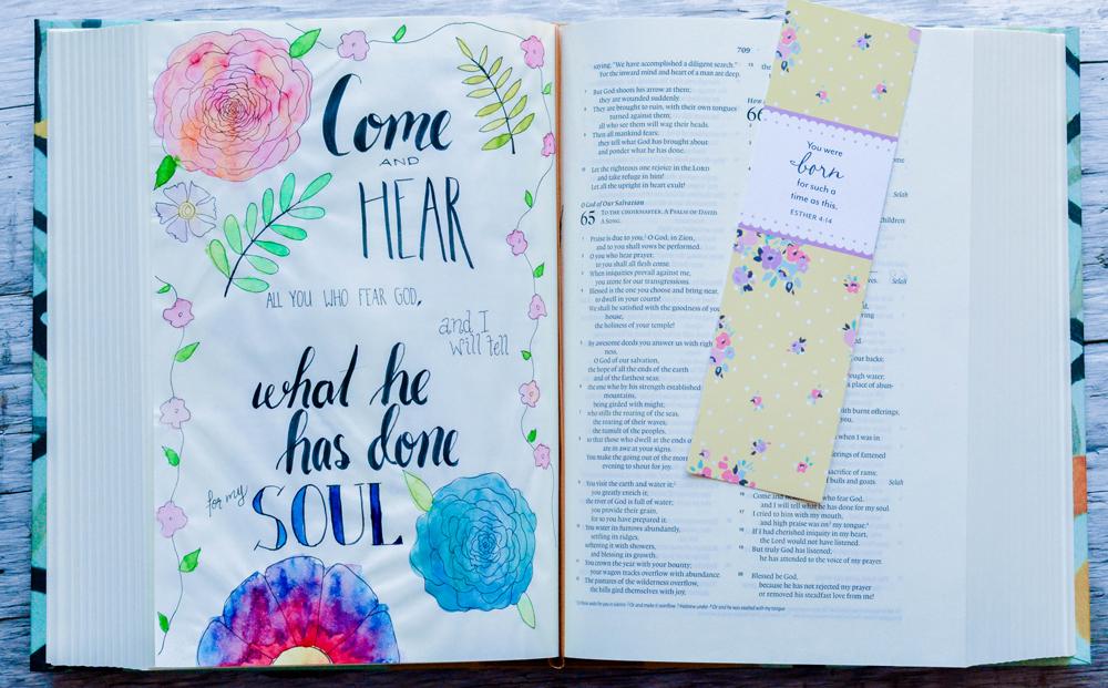 Simple Bible Journaling Ideas