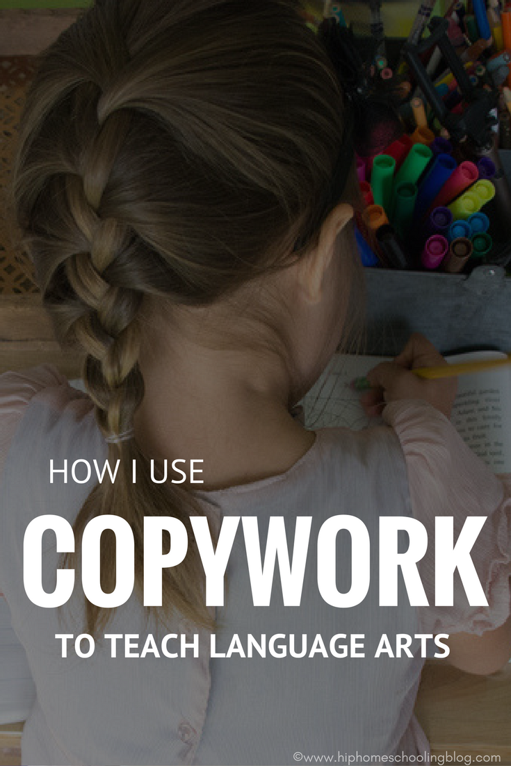 How I use Copywork to Teach Language Arts | Find out how I teach all five of my kids language arts at once using copy work and Brave Writer! Brave Writer lifestyle | charlotte mason homeschool | charlotte mason homeschooling | charlotte mason language arts | what is charlotte mason | homeschool copywork | homeschool ideas | homeschool curriculum | homeschool writing | homeschooling ideas | homeschool blog | homeschool blogger | homeschool language arts curriculum | brave writer review | what is brave writer | how does brave writer work? | thomas jefferson education | tj education