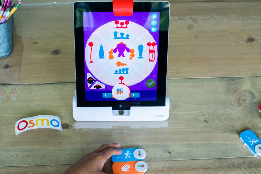 interactive educational games with Osmo (Coding Jam)