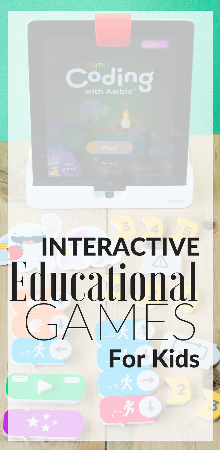 Interactive Educational Games for Kids | Coding for kids activities | Coding for kids teaching | Coding for kids apps | Coding for kids games | Coding for kids toys | osmo in the classroom | osmo coding | osmo iPad | osmo masterpiece | osmo kindergarten | Osmo Education | Osmo Games | Homeschool coding | homeschooling | homeschool ideas | homeschool resources | homeschool curriculum