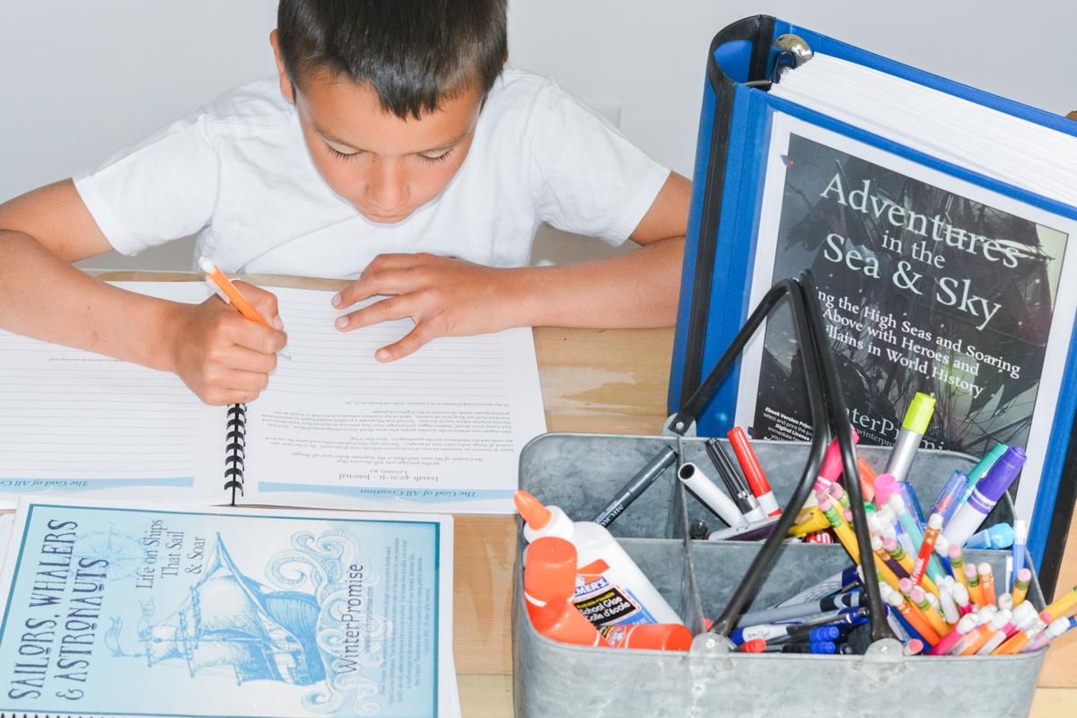 Unit Study and Charlotte Mason Homeschool with WinterPromise: bible