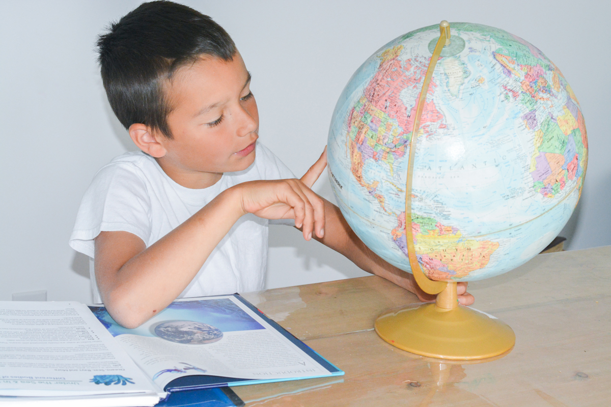 Unit Study and Charlotte Mason Homeschool with WinterPromise: geography