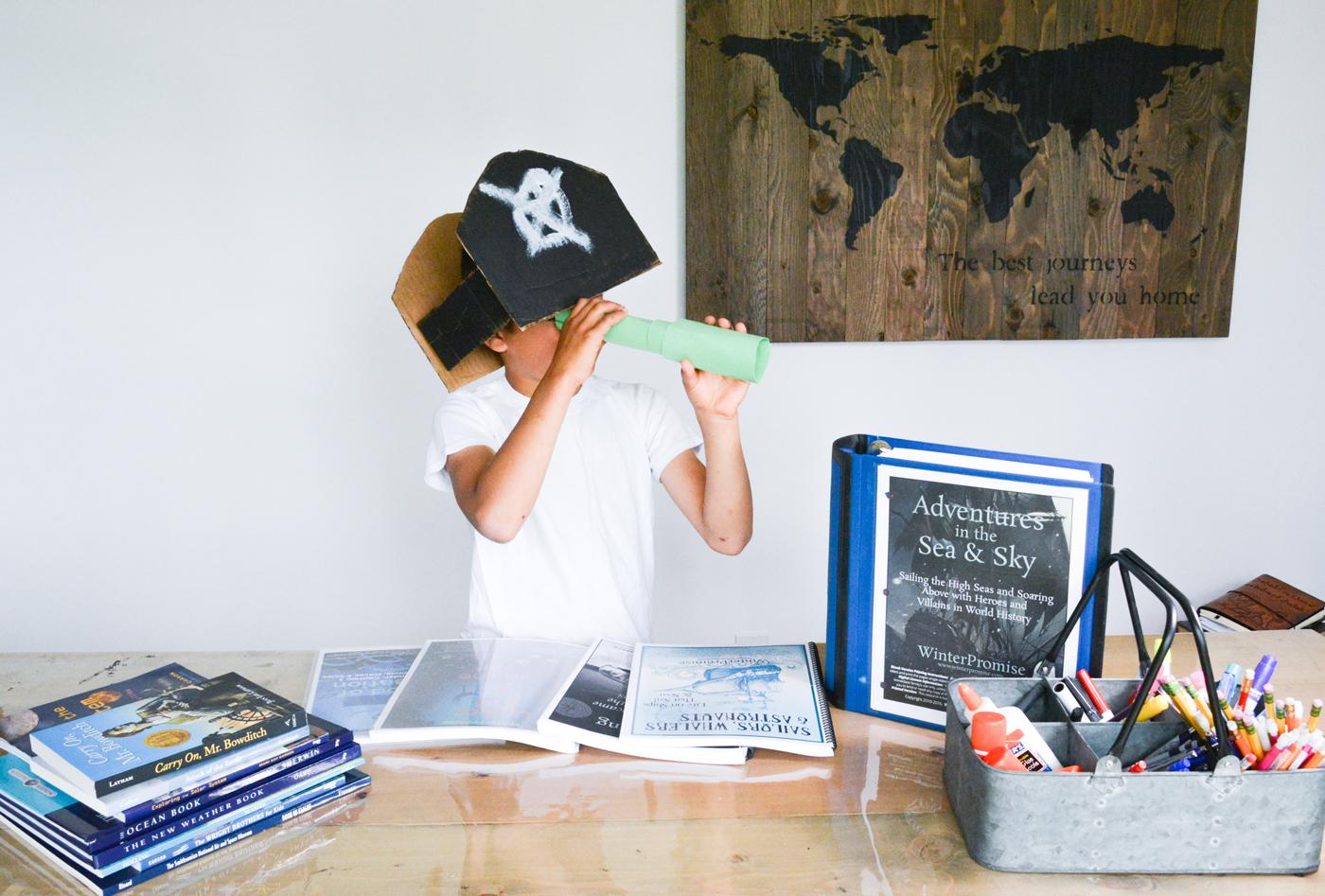 Unit Study and Charlotte Mason Homeschool with WinterPromise