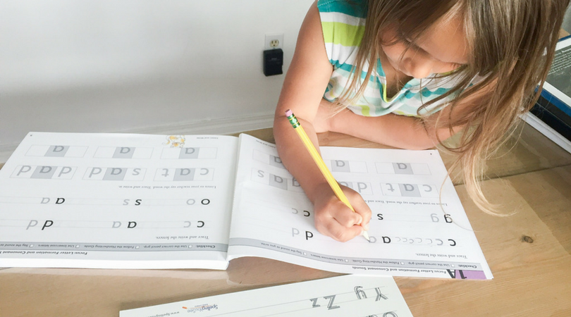 Teaching Spelling through Copywork