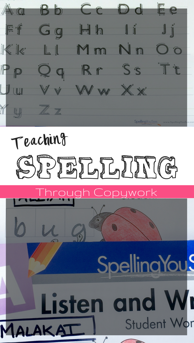 Teaching Spelling through Copywork with Spelling You See | Spelling You See Curriculum | Spelling you see review | homeschool spelling | homeschool language arts| homeschooling language arts | homeschool spelling curriculum | spelling curriculum | how to teach spelling | fun spelling program | easy spelling curriculum | homeschool tips | homeschool curriculum reviews