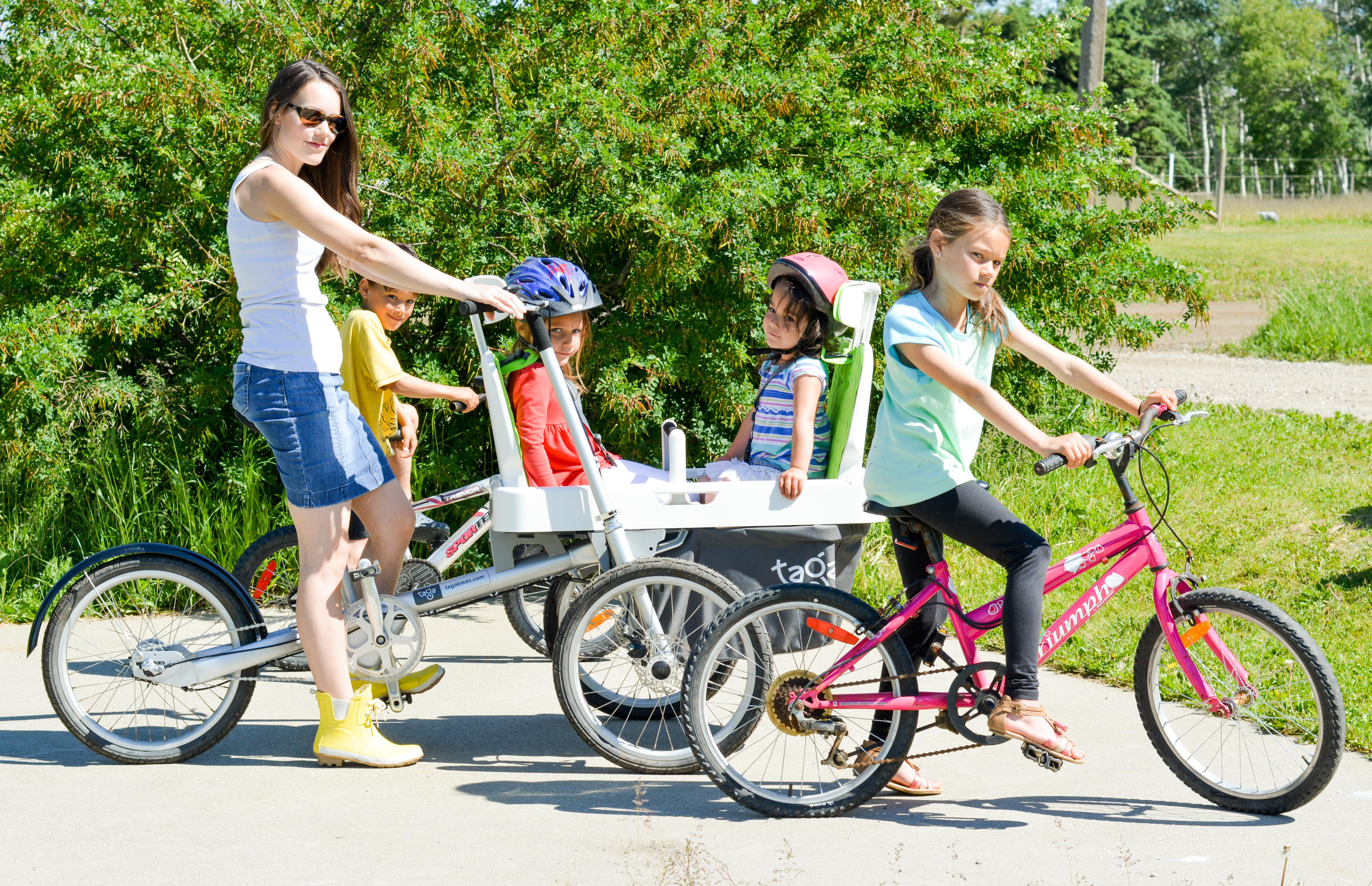 есть велосипед для всей семьи фото самые интересные