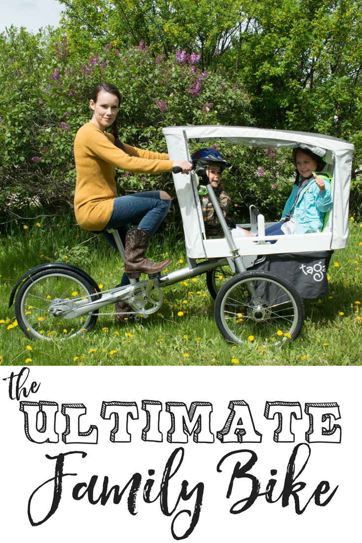 the Ultimate Family Bike | taga bike | taga 2.0 | family bike | family bike reviews | family bike bicycles | family bike trip | family bike for kids | family bike storage | fun family bike