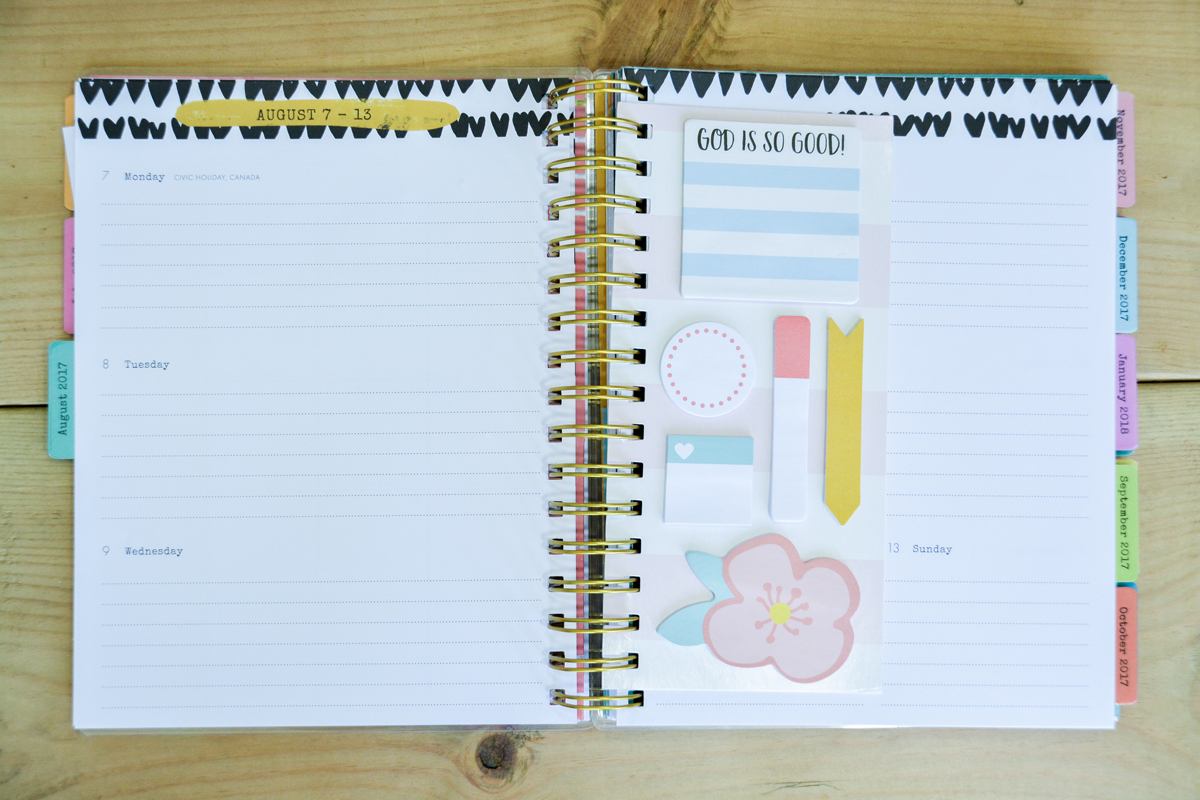 Day Spring planner: plan your year