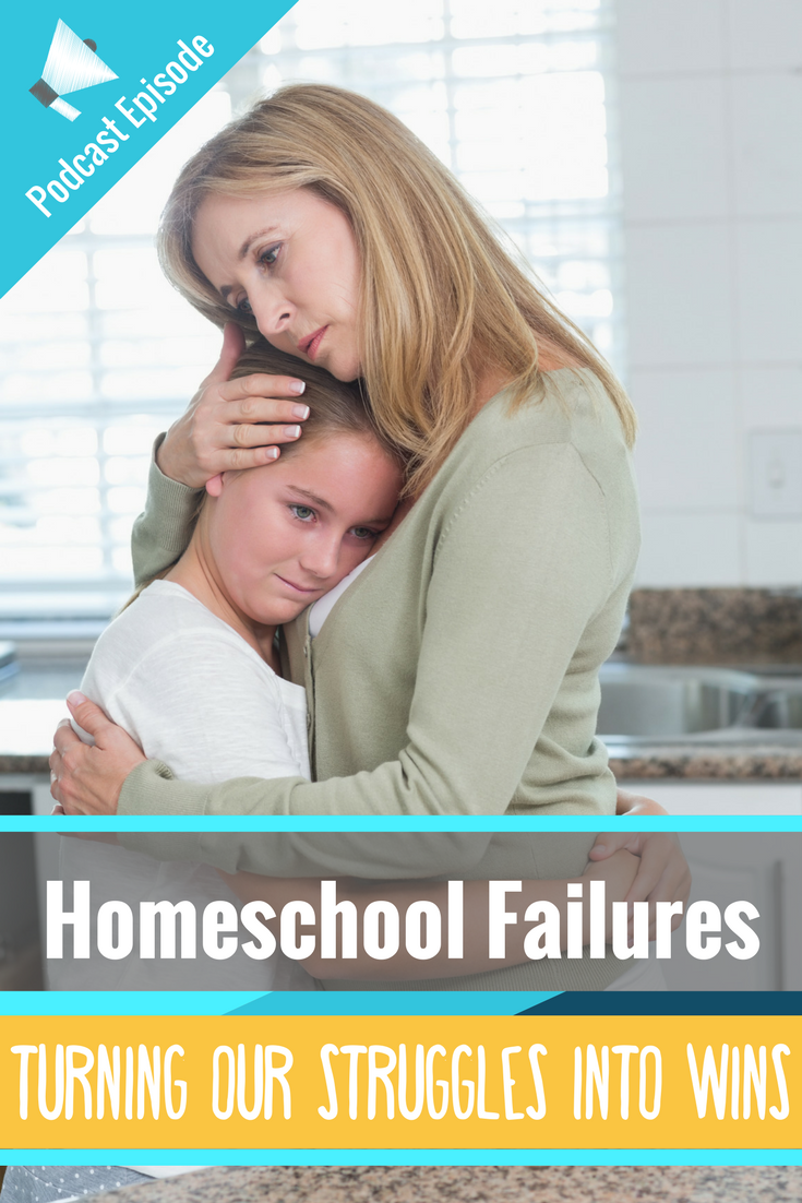 We all have homeschool struggles, we all have hard days. In this homeschool podcast I vent about some homeschooling struggles and give some practical homeschool tips and encouragement to turn those failures into successes!