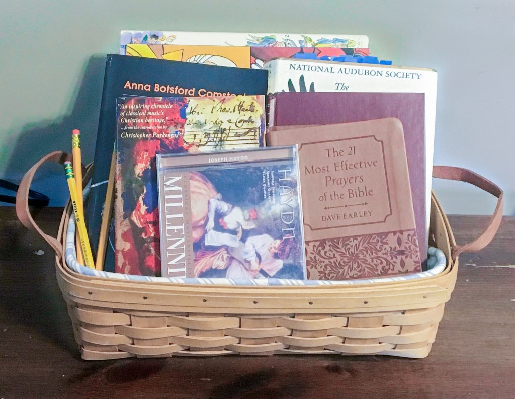 Typical Homeschool Day: Morning Basket