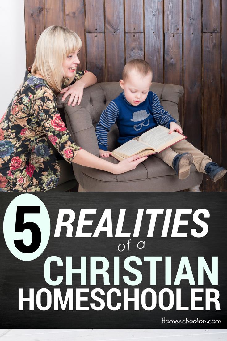 5 Realities of a modern day Christian homeschooler