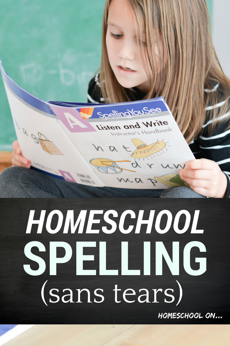 Homeschool Spelling with Spelling You See