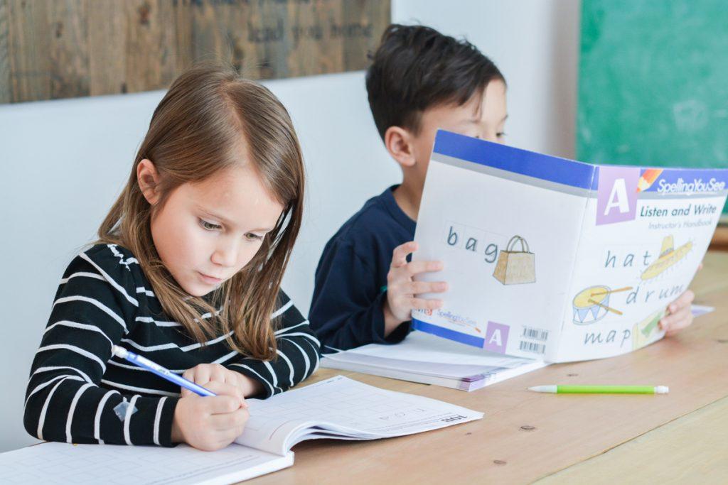 Homeschool spelling: keep calm and homeschool on