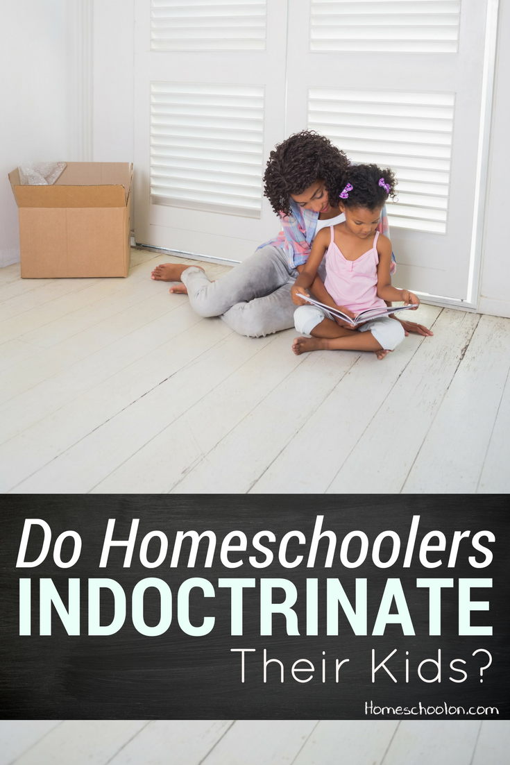 Homeschool indoctrination