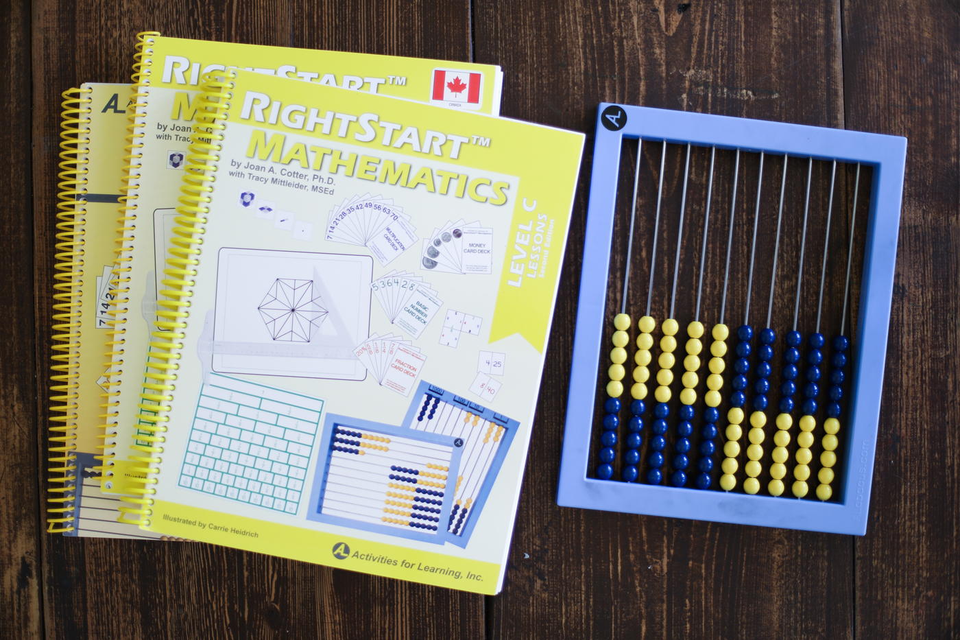 Homeschool Math Comparison: RightStart Math