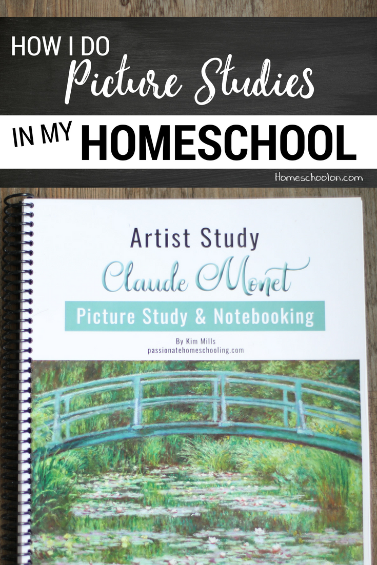 How to use a picture study in your homeschool