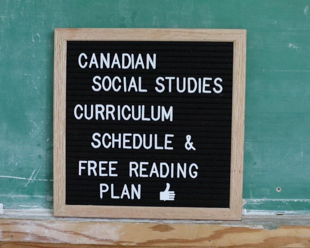 Charlotte Mason Canadian Social Studies K-5