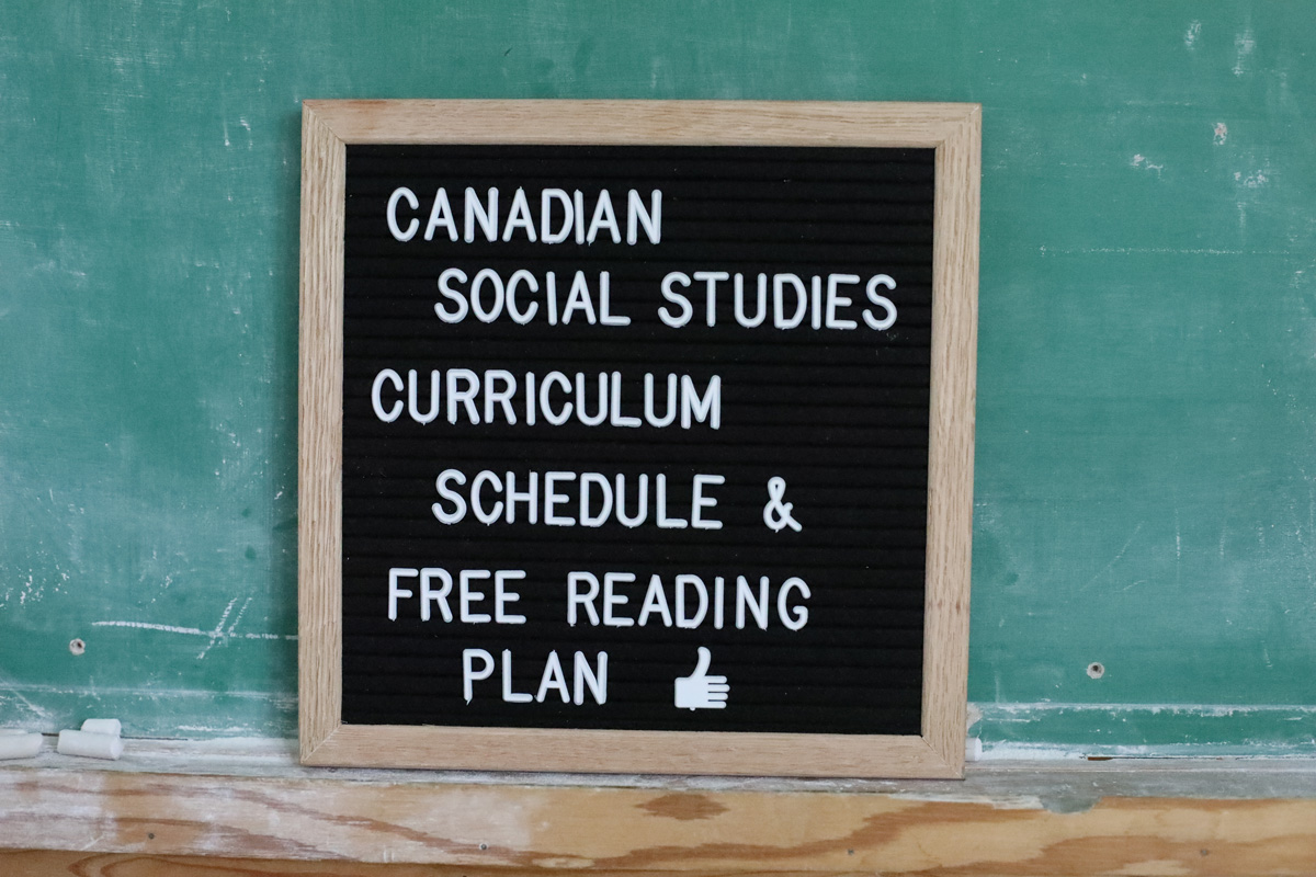 charlotte mason canadian social studies k