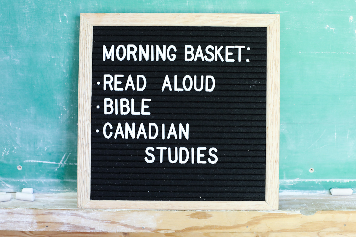 Morning Basket Ideas