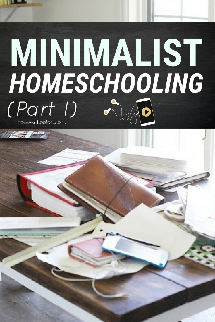 Homeschooling can be incredibly overwhelming, there is SO much curriculum out there, so many resources, so much pressure on your shoulders... we often continue adding MORE but then it becomes unsustainable and overwhelming. Stop the crazy train! It's time to find our homeschool happy place and look into minimalist homeschooling... #homeschoolmom #homeschooling #homeschoolers