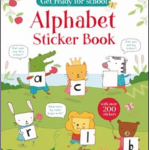 Alphabet kindergarten homeschool book