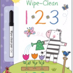 wipe clean 1 2 3 usborne