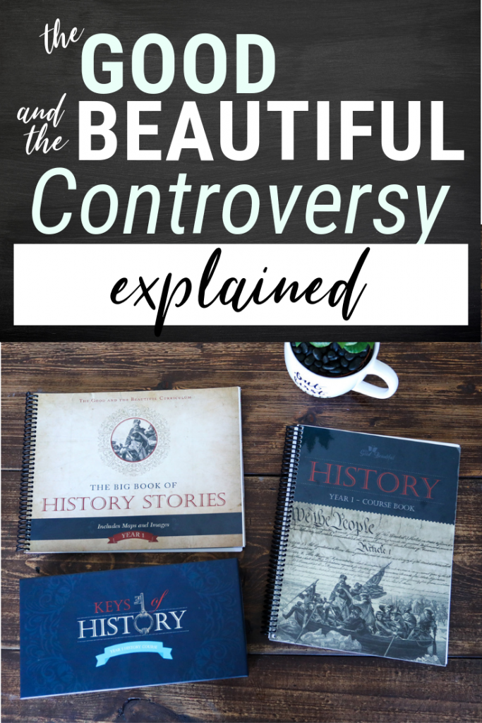 To the Christians using (or considering) the Good and the Beautiful homeschool curriculum. Come learn what the controversy is all about and what I feel God has shown me about the debate. #homeschool #homeschooling #homeschoolcurriculum