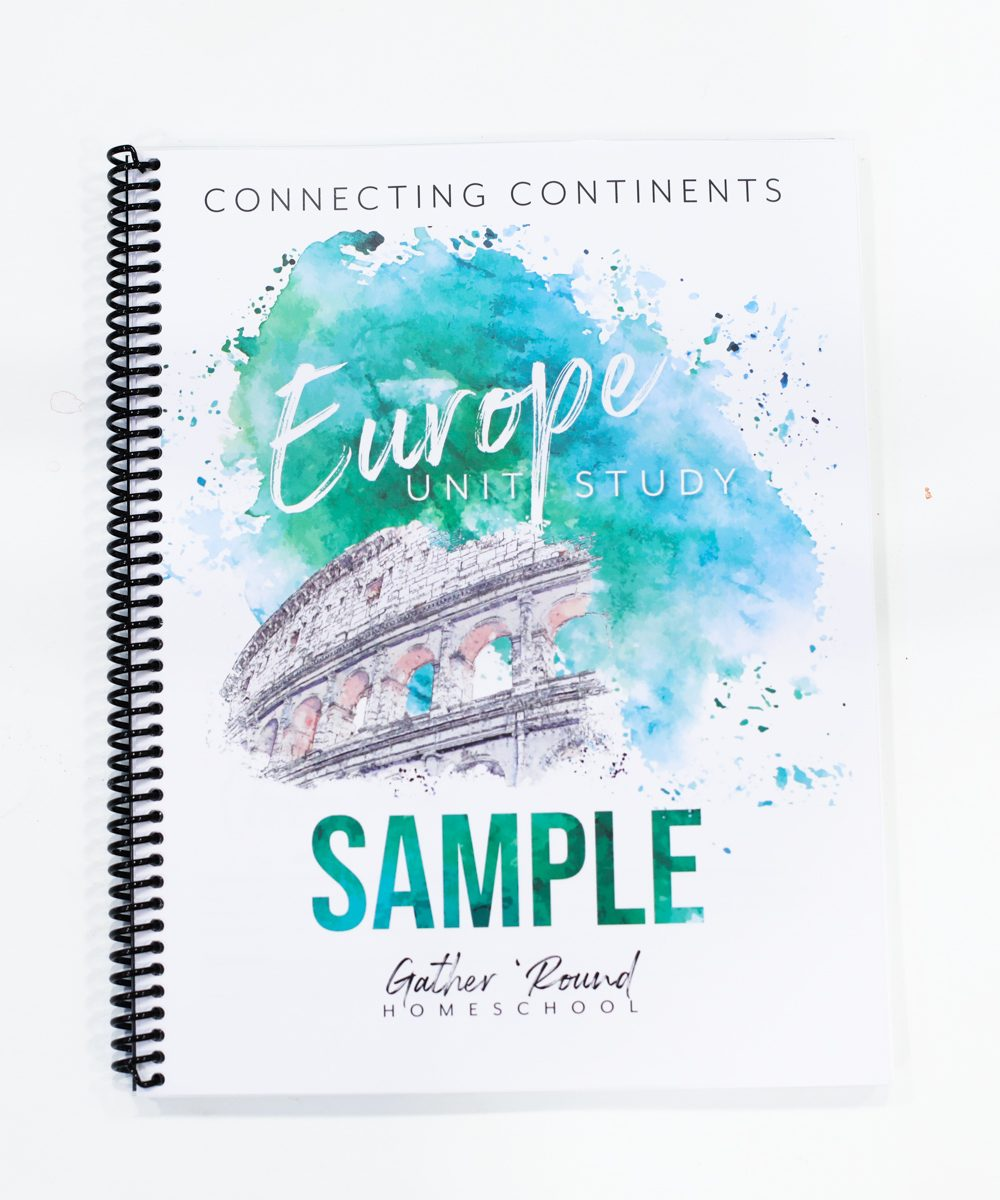 Explore Europe in your Homeschool!